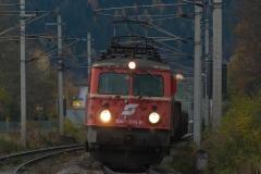 1042 bei der Ausfahrt Gloggnitz