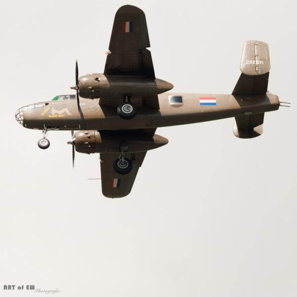 North American B-25 Mitchell - Volkel 2013