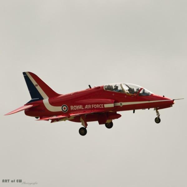 BAe Hawk T1 - Red Arrows - Volkel 2013