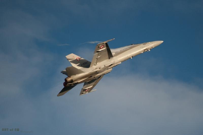 General Dynamics F18 - Sanicole 2015