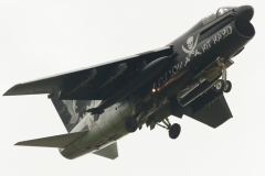 HAF A-7E Corsair II - Pirate Painting - Fly low hit hard