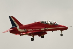 BAe Hawk T1 - Red Arrows - Volkel 2013