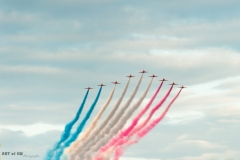 Red Arrows - Sunset Show - Sanicole 2015