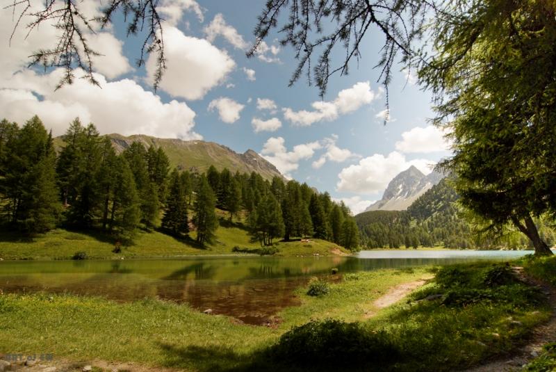 Palpuogna See, Schweiz