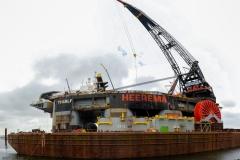 Schwimmkran Thialf - 2x 7.100 Tonnen
