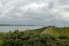 Hafenausfahrt Rotterdam