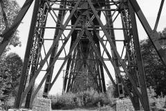 Eisenbahnbrücke über Nordostseekanal in Rendsburg